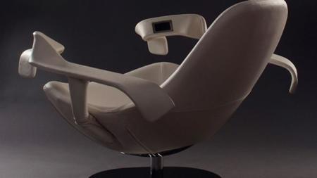 Una silla que te permite quemar calorías