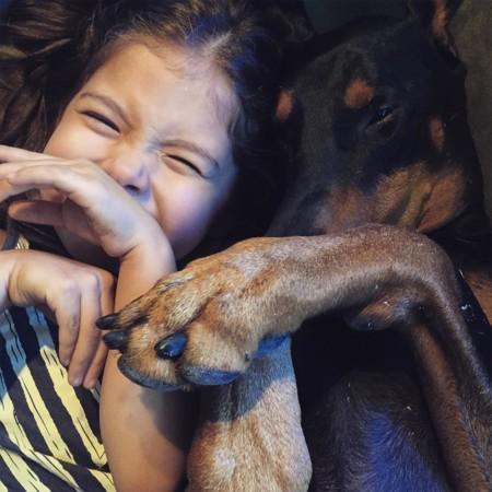 Cutie And The Beast Dog Girl Seana Doberman 93