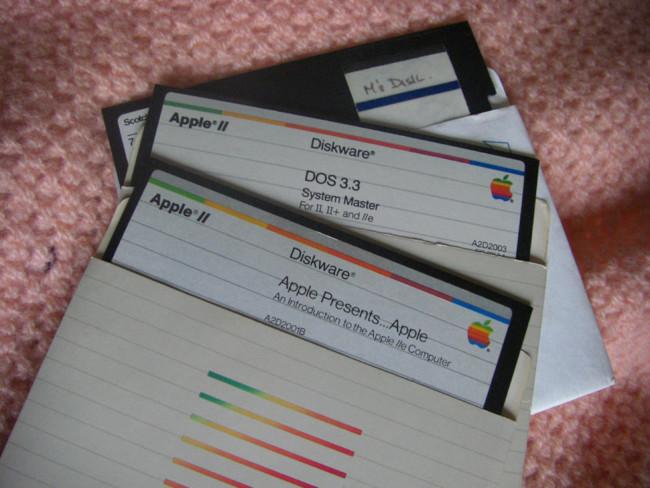 Apple-floppy