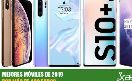 Los mejores móviles de 2019 a partir de 400 euros