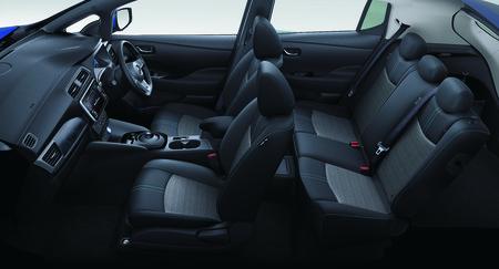 Nuevo Nissan Leaf 2018 Interior