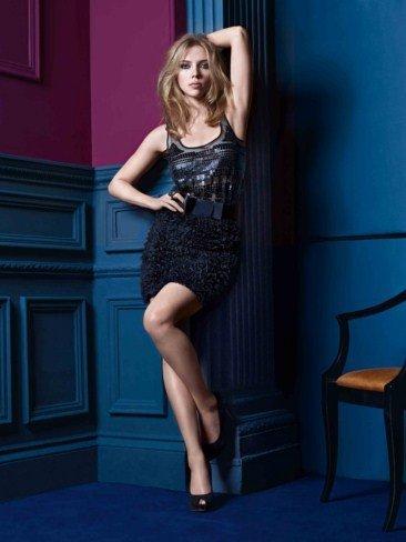 Scarlett Johansson Mango Nochevieja Fiesta