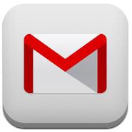 Gmail 2.0 logo para iOS