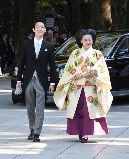 boda japón princesa ayako