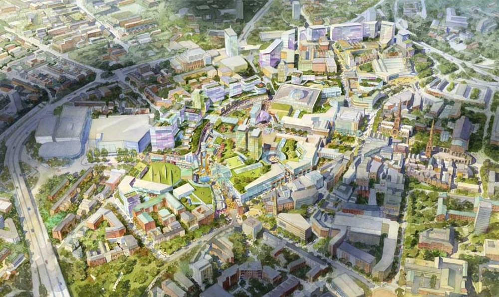 Coventry City Centre Masterplan Jerde