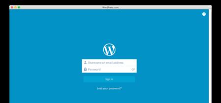 Wordpress.com lanza aplicación nativa para OS X