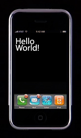 "La aplicación ""Hello World!"", programada nativamente para el iPhone, disponible para descargar"