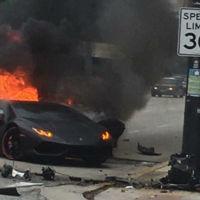 Dolorpasión™: Lamborghini Huracán arde en Chicago