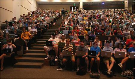 Imagen de la semana: En la universidad triunfa el Mac