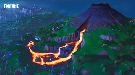 Volcan Fortnite