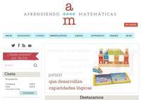 Aprendiendo matemáticas es una página en Internet con recursos para mejorar los conocimientos de esta materia