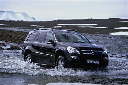 Mercedes Clase GL en Islandia