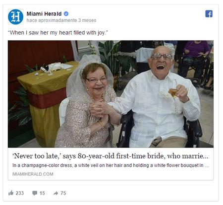 historias de amor abuela casada 80 años