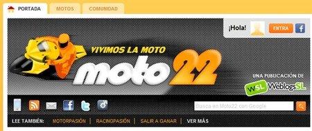 Actualizamos Moto22 con pestañas de contenidos y mejoras en el sistema de votaciones
