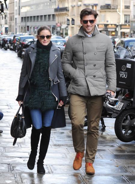 Johannes Huebl modelo pareja Olivia Palermo street style estilo en la calle