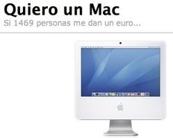 www.quierounmac.es: Conseguir un Mac a cambio de publicidad
