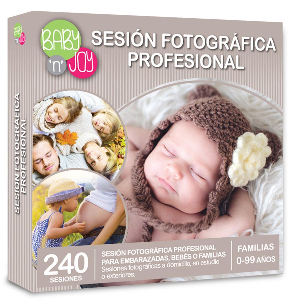 "Caja Regalo Sesión fotográfica para tu bebé ""Njoy"""