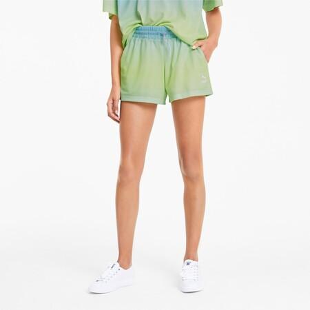 Shorts Tie Dye Mesh Para Mujer
