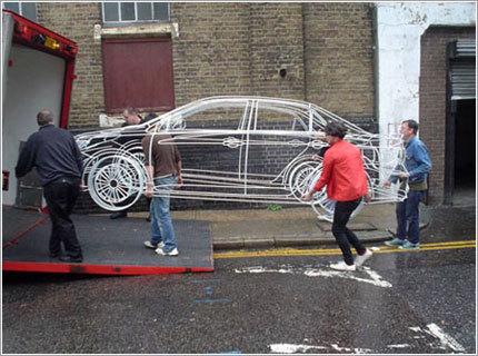 Se retira el Subaru Impreza de alambre