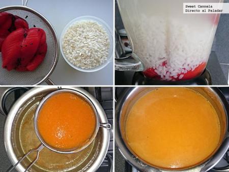 Preparación Sopa