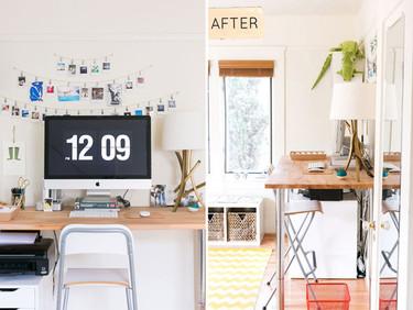 Una mala idea: una mesa de trabajo demasiado alta