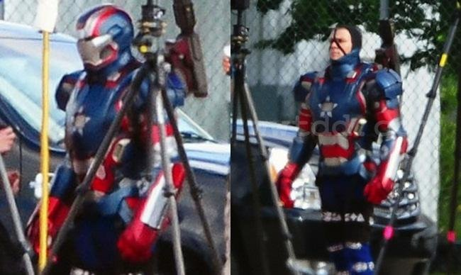 Iron Patrior en 'Iron Man 3'