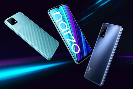 Realme Narzo 30 Pro 5G y Realme Narzo 30A: el 5G y la pantalla de 120 Hz llegan a la nueva gama media económica de Realme
