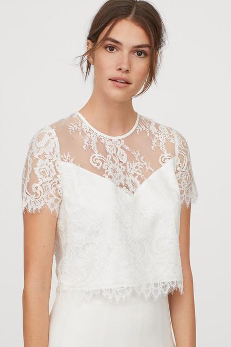 De estilo princesa, lencero o de aire vintage... En H&M hay un vestido de novia low cost para todos los gustos