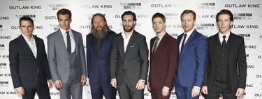 La premire de'Outlaw King' es la inspiración perfecta para saber llevar un traje en otoño