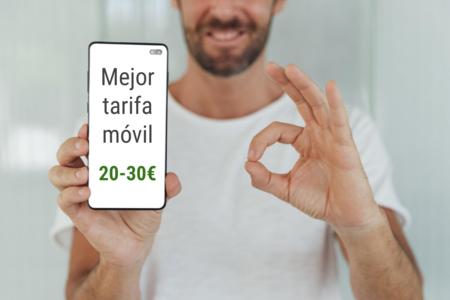Las mejores tarifas móviles para hablar y navegar entre 20 y 30 euros, incluidas las familias