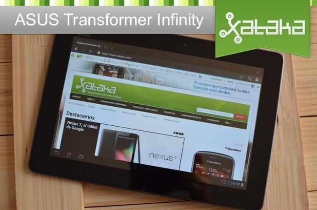 ASUS Transformer Infinity análisis en Xataka