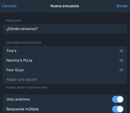 Encuesta Telegram 2