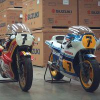 Suzuki va a restaurar estas tres joyas ex-Barry Sheene, aunque no sean motos campeonas