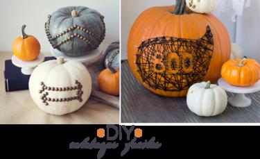 2x1: DIY rápido de calabazas resultonas para Halloween