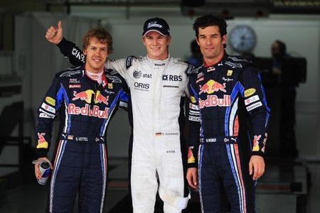 GP de Brasil de Fórmula 1. La pole de Nico Hülkenberg no fue con un set-up de lluvia