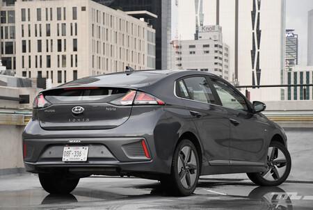 Hyundai Ioniq 2021 Hibrido Mexico Opiniones Prueba 5