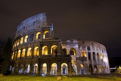 Roma: visitas guiadas nocturnas para disfrutar del Coliseo