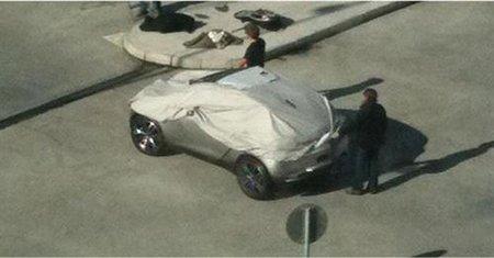 Fotos espia del Peugeot HR1 Concept