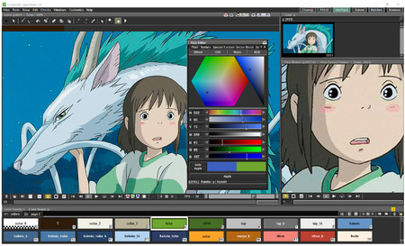 Opentoonz Interface Big