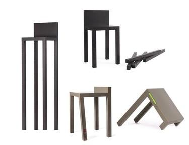 Colección de sillas inverosímiles