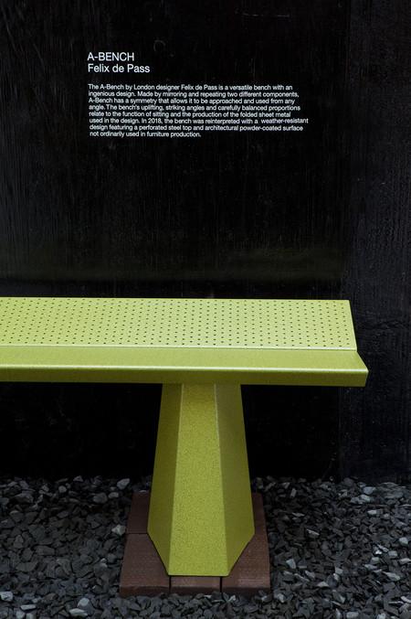 A Bench Felix De Pass Londondesignfestival 10 C 2018 Establishedandsons C Jameschampion 72dpi