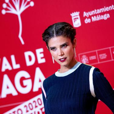 Juana Acosta arriesga y gana en el Festival de Málaga 2020 con este original look