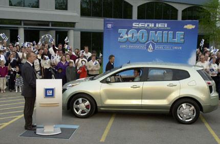 Chevy Sequel, 482,80 kilómetros recorridos, cero emisiones