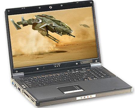 XtremeNotebook 917V, primer portátil con Intel Xeon