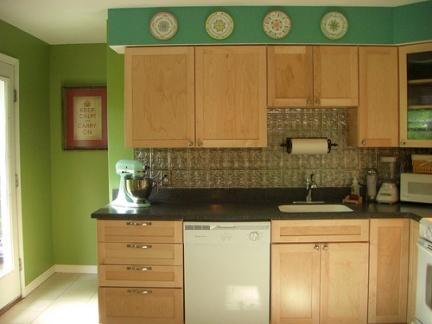 Antes y despu s un cambio de color a la cocina - Colores para pintar una cocina comedor ...
