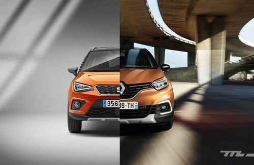The Clone Wars: SEAT Arona vs Renault Captur. Estas son las diferencias entre ambos