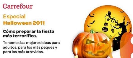 Carrefour ha elaborado promociones muy interesantes para celebrar Halloween
