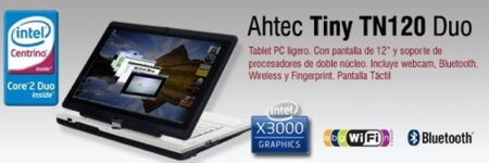 Ahtec Tiny TN120, un TabletPC económico