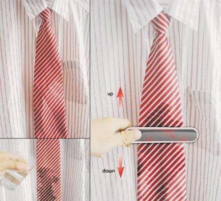 Clip y placha para la corbata