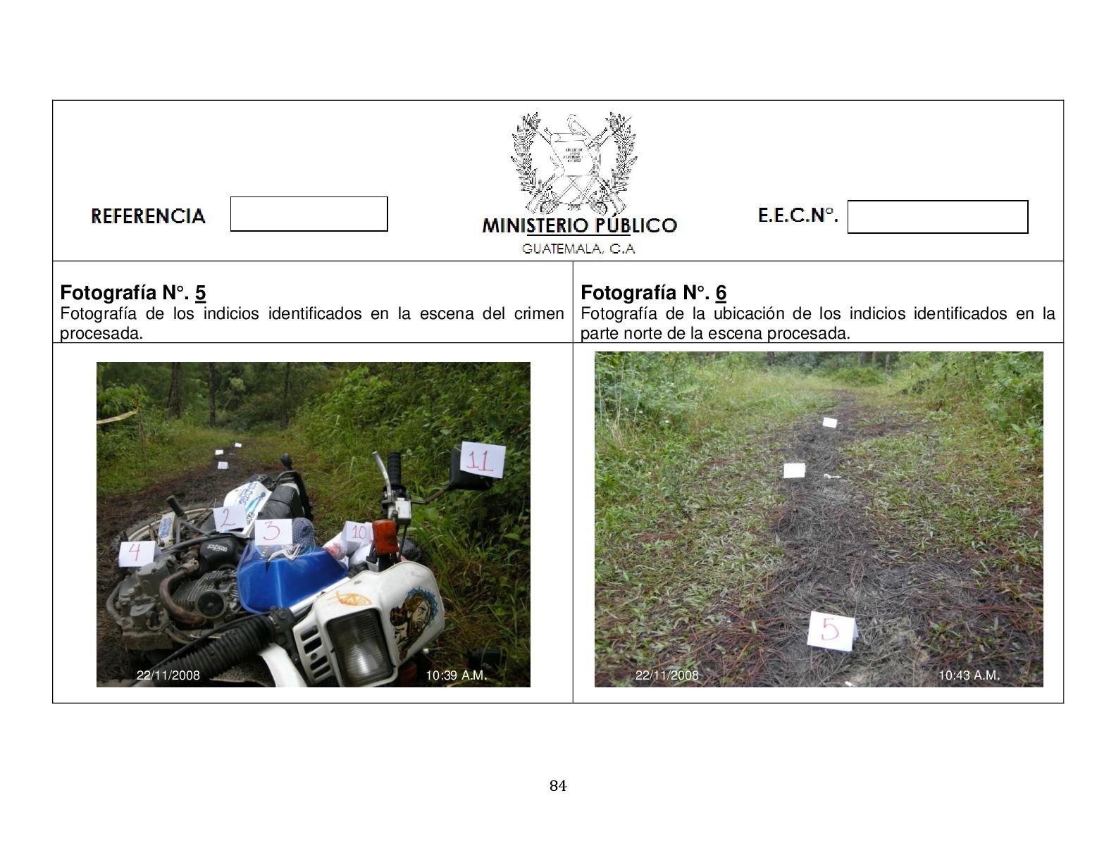 Foto de Simulación balacera contra motorista (2/12)